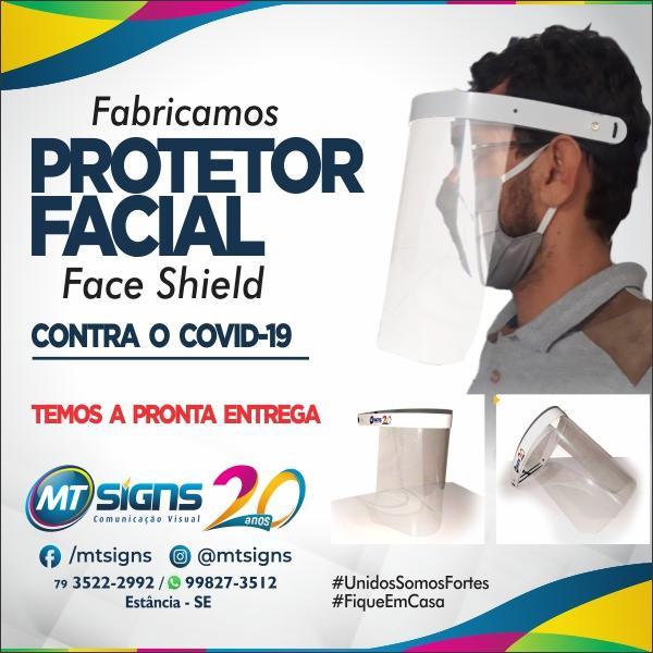 Proteção Facial Faceshild
